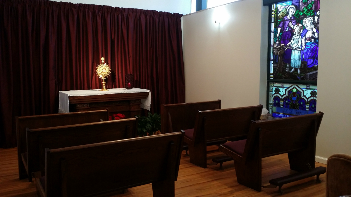 Adoration Chapel - after
